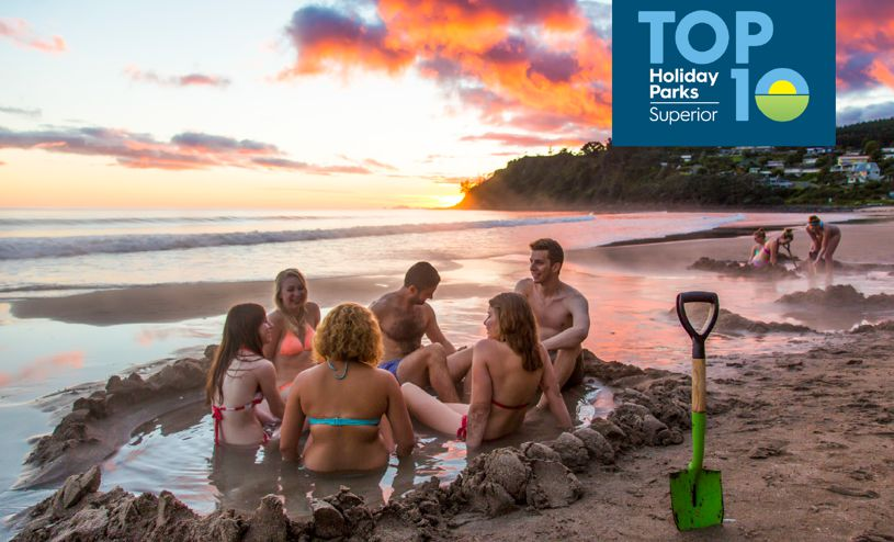 Hot Water Beach TOP10 Holiday Park